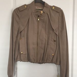 Daughters Of The Liberation Cropped Bomber Jacket
